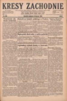 Kresy Zachodnie: pismo poświęcone obronie interesów narodowych na zachodnich ziemiach Polski 1928.11.04 R.6 Nr255