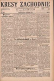 Kresy Zachodnie: pismo poświęcone obronie interesów narodowych na zachodnich ziemiach Polski 1928.11.06 R.6 Nr256
