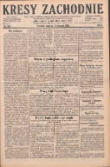 Kresy Zachodnie: pismo poświęcone obronie interesów narodowych na zachodnich ziemiach Polski 1928.11.15 R.6 Nr264