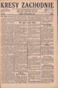 Kresy Zachodnie: pismo poświęcone obronie interesów narodowych na zachodnich ziemiach Polski 1928.11.20 R.6 Nr268