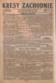 Kresy Zachodnie: pismo poświęcone obronie interesów narodowych na zachodnich ziemiach Polski 1929.01.01 R.7 Nr1
