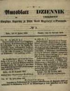 Amtsblatt der Königlichen Regierung zu Posen. 1858.01.12 Nro.2