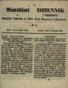Amtsblatt der Königlichen Regierung zu Posen. 1858.01.19 Nro.3