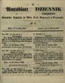 Amtsblatt der Königlichen Regierung zu Posen. 1858.03.02 Nro.9