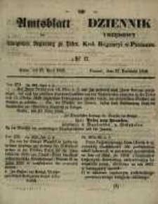 Amtsblatt der Königlichen Regierung zu Posen. 1858.04.27 Nro.17