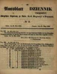 Amtsblatt der Königlichen Regierung zu Posen. 1858.05.25 Nro.21