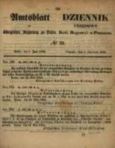 Amtsblatt der Königlichen Regierung zu Posen. 1858.06.01 Nro.22