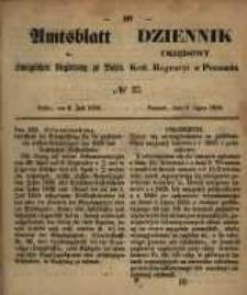 Amtsblatt der Königlichen Regierung zu Posen. 1858.07.06 Nro.27