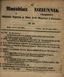 Amtsblatt der Königlichen Regierung zu Posen. 1858.07.13 Nro.28