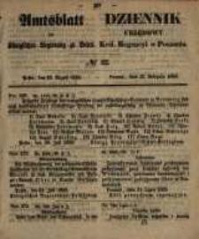 Amtsblatt der Königlichen Regierung zu Posen. 1858.08.10 Nro.32
