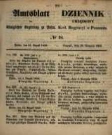 Amtsblatt der Königlichen Regierung zu Posen. 1858.08.24 Nro.34