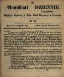 Amtsblatt der Königlichen Regierung zu Posen. 1858.09.17 Nro.37