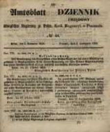 Amtsblatt der Königlichen Regierung zu Posen. 1858.11.02 Nro.44