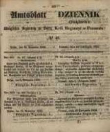 Amtsblatt der Königlichen Regierung zu Posen. 1858.11.16 Nro.46