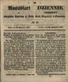 Amtsblatt der Königlichen Regierung zu Posen. 1858.11.23 Nro.47