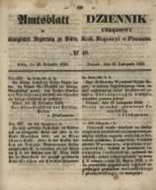 Amtsblatt der Königlichen Regierung zu Posen. 1858.11.30 Nro.48