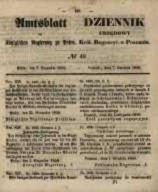 Amtsblatt der Königlichen Regierung zu Posen. 1858.12.07 Nro.49