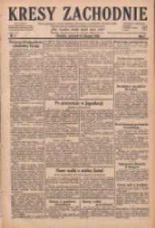 Kresy Zachodnie: pismo poświęcone obronie interesów narodowych na zachodnich ziemiach Polski 1929.01.09 R.7 Nr6