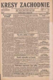Kresy Zachodnie: pismo poświęcone obronie interesów narodowych na zachodnich ziemiach Polski 1929.01.11 R.7 Nr8