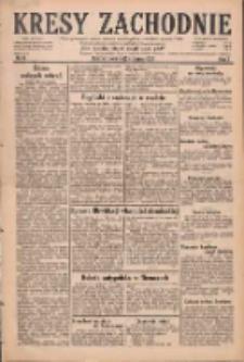 Kresy Zachodnie: pismo poświęcone obronie interesów narodowych na zachodnich ziemiach Polski 1929.01.12 R.7 Nr9