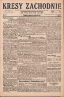 Kresy Zachodnie: pismo poświęcone obronie interesów narodowych na zachodnich ziemiach Polski 1929.01.15 R.7 Nr11