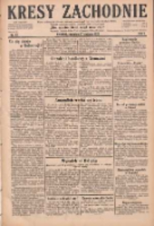 Kresy Zachodnie: pismo poświęcone obronie interesów narodowych na zachodnich ziemiach Polski 1929.01.17 R.7 Nr13