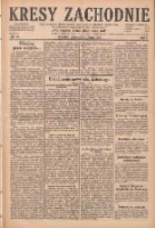 Kresy Zachodnie: pismo poświęcone obronie interesów narodowych na zachodnich ziemiach Polski 1929.01.20 R.7 Nr16
