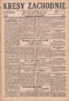Kresy Zachodnie: pismo poświęcone obronie interesów narodowych na zachodnich ziemiach Polski 1929.01.24 R.7 Nr19