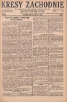 Kresy Zachodnie: pismo poświęcone obronie interesów narodowych na zachodnich ziemiach Polski 1929.01.25 R.7 Nr20