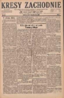 Kresy Zachodnie: pismo poświęcone obronie interesów narodowych na zachodnich ziemiach Polski 1929.01.26 R.7 Nr21