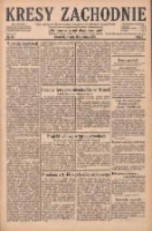 Kresy Zachodnie: pismo poświęcone obronie interesów narodowych na zachodnich ziemiach Polski 1929.01.29 R.7 Nr23