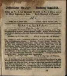 Oeffentlicher Anzeiger. 1859.01.04 Nro.1