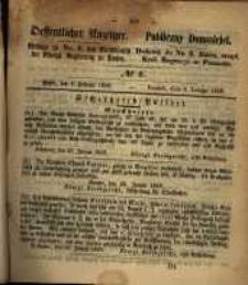 Oeffentlicher Anzeiger. 1859.02.08 Nro.6