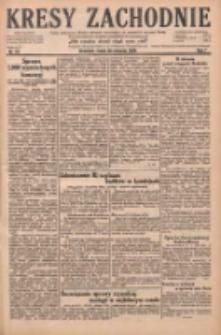 Kresy Zachodnie: pismo poświęcone obronie interesów narodowych na zachodnich ziemiach Polski 1929.01.30 R.7 Nr24