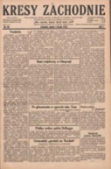 Kresy Zachodnie: pismo poświęcone obronie interesów narodowych na zachodnich ziemiach Polski 1929.02.01 R.7 Nr26