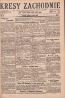 Kresy Zachodnie: pismo poświęcone obronie interesów narodowych na zachodnich ziemiach Polski 1929.02.02 R.7 Nr27