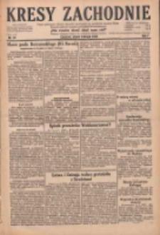 Kresy Zachodnie: pismo poświęcone obronie interesów narodowych na zachodnich ziemiach Polski 1929.02.08 R.7 Nr31
