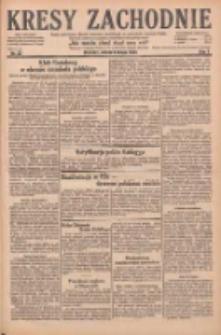 Kresy Zachodnie: pismo poświęcone obronie interesów narodowych na zachodnich ziemiach Polski 1929.02.09 R.7 Nr32