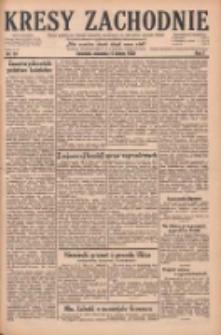 Kresy Zachodnie: pismo poświęcone obronie interesów narodowych na zachodnich ziemiach Polski 1929.02.17 R.7 Nr39