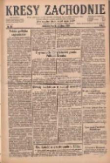 Kresy Zachodnie: pismo poświęcone obronie interesów narodowych na zachodnich ziemiach Polski 1929.02.19 R.7 Nr40