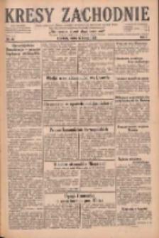 Kresy Zachodnie: pismo poświęcone obronie interesów narodowych na zachodnich ziemiach Polski 1929.02.22 R.7 Nr43