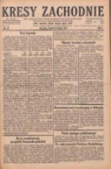 Kresy Zachodnie: pismo poświęcone obronie interesów narodowych na zachodnich ziemiach Polski 1929.02.23 R.7 Nr44