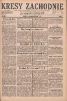 Kresy Zachodnie: pismo poświęcone obronie interesów narodowych na zachodnich ziemiach Polski 1929.02.28 R.7 Nr48