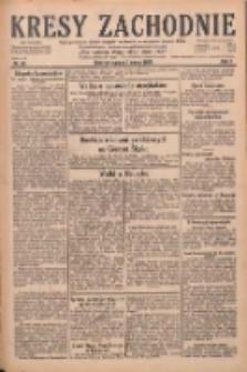 Kresy Zachodnie: pismo poświęcone obronie interesów narodowych na zachodnich ziemiach Polski 1929.03.09 R.7 Nr56