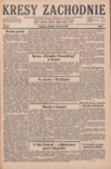 Kresy Zachodnie: pismo poświęcone obronie interesów narodowych na zachodnich ziemiach Polski 1929.03.10 R.7 Nr57