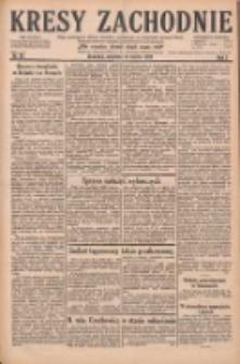 Kresy Zachodnie: pismo poświęcone obronie interesów narodowych na zachodnich ziemiach Polski 1929.03.17 R.7 Nr63