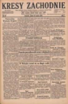 Kresy Zachodnie: pismo poświęcone obronie interesów narodowych na zachodnich ziemiach Polski 1929.03.22 R.7 Nr67