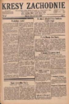 Kresy Zachodnie: pismo poświęcone obronie interesów narodowych na zachodnich ziemiach Polski 1929.03.23 R.7 Nr68