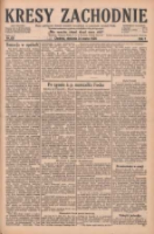Kresy Zachodnie: pismo poświęcone obronie interesów narodowych na zachodnich ziemiach Polski 1929.03.24 R.7 Nr69