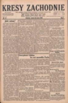 Kresy Zachodnie: pismo poświęcone obronie interesów narodowych na zachodnich ziemiach Polski 1929.03.30 R.7 Nr74